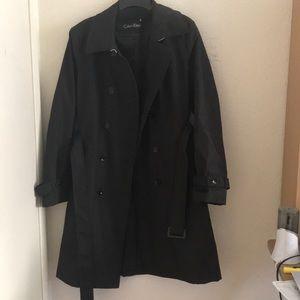 Calvin Klein Black Women's Trench Coat